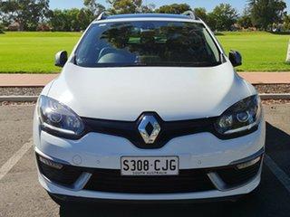 2015 Renault Megane III K95 Phase 2 GT-Line Sportwagon EDC Premium White 6 Speed.