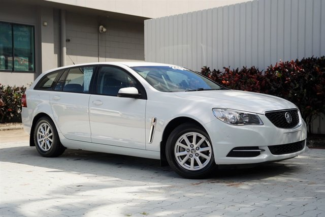 Used Holden Commodore VF II MY16 Evoke Sportwagon Cairns, 2015 Holden Commodore VF II MY16 Evoke Sportwagon White 6 Speed Sports Automatic Wagon