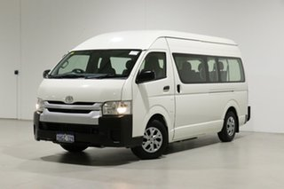 2015 Toyota HiAce KDH223R MY15 Commuter White 4 Speed Automatic Bus.