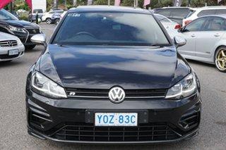 2018 Volkswagen Golf 7.5 MY18 R DSG 4MOTION Black 7 Speed Sports Automatic Dual Clutch Hatchback.