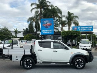 2008 Mitsubishi Triton ML GLX White 5 Speed Manual Utility
