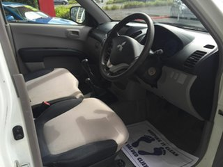 2009 Mitsubishi Triton MN MY10 GLX (4x4) White 5 Speed Manual 4x4 Cab Chassis