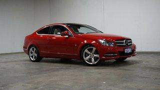 2012 Mercedes-Benz C-Class C204 C250 BlueEFFICIENCY 7G-Tronic + Campanella White 7 Speed.