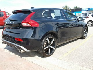 2014 Volvo V40 M Series MY14 T4 Adap Geartronic Luxury Black 6 Speed Sports Automatic Hatchback