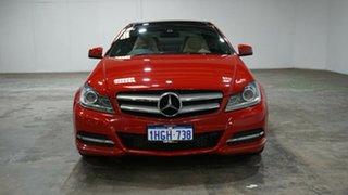 2012 Mercedes-Benz C-Class C204 C250 BlueEFFICIENCY 7G-Tronic + Campanella White 7 Speed