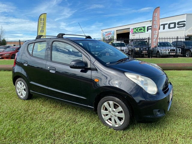 Used Suzuki Alto GF GLX Berrimah, 2010 Suzuki Alto GF GLX Black 5 Speed Manual Hatchback