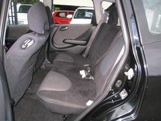 2003 Honda Jazz GLi Black Continuous Variable Hatchback