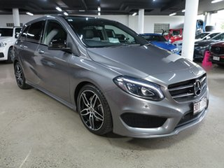 2017 Mercedes-Benz B-Class W246 807MY B250 DCT 4MATIC Grey 7 Speed Sports Automatic Dual Clutch.