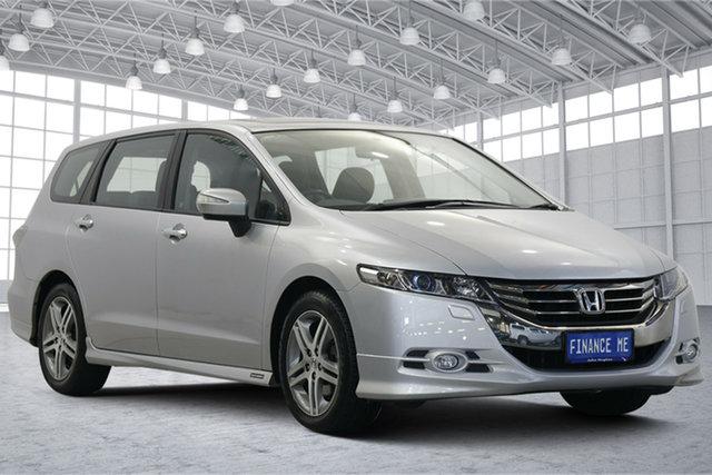 Used Honda Odyssey 4th Gen MY12 Luxury Victoria Park, 2012 Honda Odyssey 4th Gen MY12 Luxury Silver 5 Speed Sports Automatic Wagon