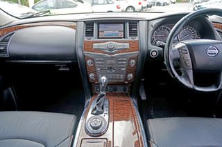 2012 Nissan Patrol Y62 TI Bronze 7 Speed Sports Automatic Wagon