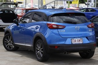 2016 Mazda CX-3 DK2W76 Akari SKYACTIV-MT Blue 6 Speed Manual Wagon.