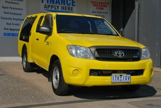 2008 Toyota Hilux GGN15R 07 Upgrade SR Yellow 5 Speed Automatic Pickup