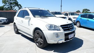 2008 Mercedes-Benz M-Class W164 MY09 ML63 AMG White 7 Speed Sports Automatic Wagon.