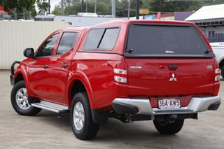 2017 Mitsubishi Triton MQ MY17 GLX+ Double Cab Red 6 Speed Manual Utility.