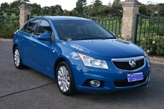 2013 Holden Cruze JH MY14 CDX Blue 6 Speed Automatic Sedan.