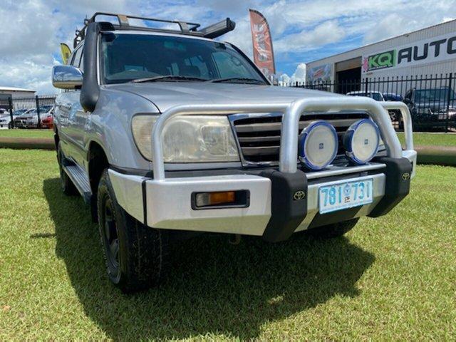 Used Toyota Landcruiser HDJ100R GXL Berrimah, 2005 Toyota Landcruiser HDJ100R GXL Silver 5 Speed Automatic Wagon