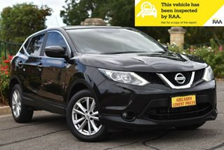 2015 Nissan Qashqai J11 TS Black 1 Speed Constant Variable Wagon.
