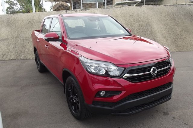 New Ssangyong Musso Q200 MY20.5 Ultimate Crew Cab South Gladstone, 2021 Ssangyong Musso Q200 MY20.5 Ultimate Crew Cab Red 6 Speed Sports Automatic Utility