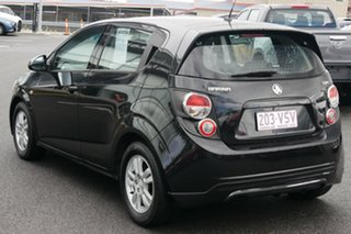 2012 Holden Barina TM Black/Grey 5 Speed Manual Hatchback