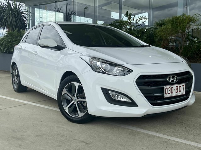 Used Hyundai i30 Activ Beaudesert, 2016 Hyundai i30 Activ White 6 Speed Automatic Hatchback