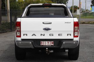 2018 Ford Ranger PX MkII 2018.00MY XLT Double Cab 4x2 Hi-Rider White 6 Speed Sports Automatic