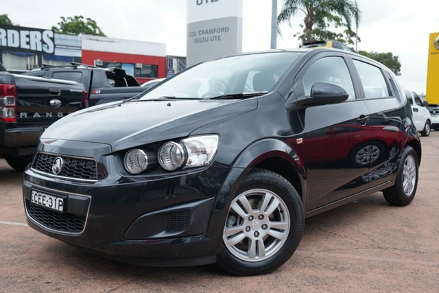 Used Holden Barina TM Brookvale, 2012 Holden Barina TM Black 6 Speed Automatic Hatchback