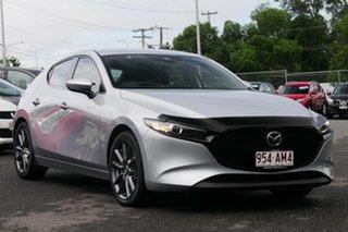 2020 Mazda 3 BP2HLA G25 SKYACTIV-Drive GT Sonic Silver 6 Speed Sports Automatic Hatchback.