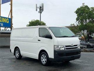 2009 Toyota HiAce KDH201R White 5 Speed Manual Van.