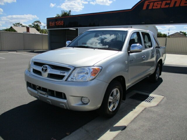 Used Toyota Hilux GGN15R MY05 SR5 4x2 Murray Bridge, 2005 Toyota Hilux GGN15R MY05 SR5 4x2 Gold 5 Speed Manual Utility
