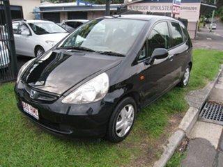 2003 Honda Jazz GLi Black Continuous Variable Hatchback.