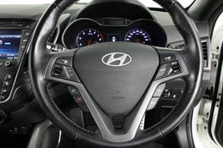 2016 Hyundai Veloster FS4 Series 2 SR Turbo White 7 Speed Auto Dual Clutch Coupe