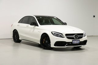 2017 Mercedes-AMG C63 S C White 7 Speed Automatic Sedan.
