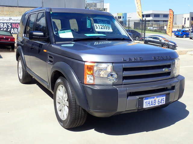 Used Land Rover Discovery 3 S Wangara, 2005 Land Rover Discovery 3 S Gun Metal 6 Speed Automatic Wagon