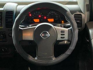 2008 Nissan Navara D40 ST-X White 5 Speed Automatic Utility