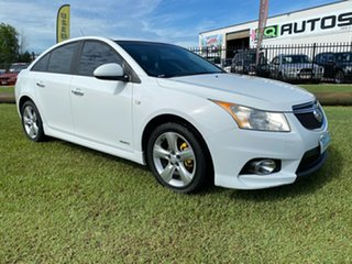 2012 Holden Cruze JH Series II MY12 SRi White 6 Speed Sports Automatic Sedan