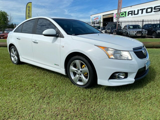Used Holden Cruze JH Series II MY12 SRi Berrimah, 2012 Holden Cruze JH Series II MY12 SRi White 6 Speed Sports Automatic Sedan