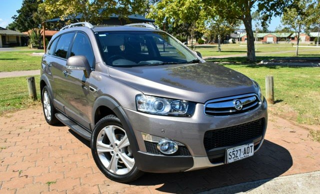 Used Holden Captiva CG Series II MY12 7 AWD LX Ingle Farm, 2013 Holden Captiva CG Series II MY12 7 AWD LX Grey 6 Speed Sports Automatic Wagon
