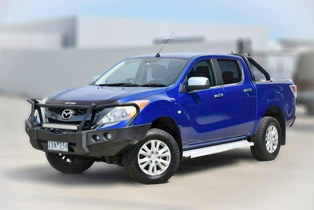 Used Mazda BT-50 UP0YF1 XTR Pakenham, 2013 Mazda BT-50 UP0YF1 XTR Blue 6 Speed Sports Automatic Utility