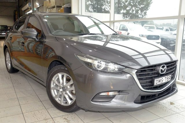Used Mazda 3 BN5478 Maxx SKYACTIV-Drive West Gosford, 2017 Mazda 3 BN5478 Maxx SKYACTIV-Drive Grey 6 Speed Sports Automatic Hatchback