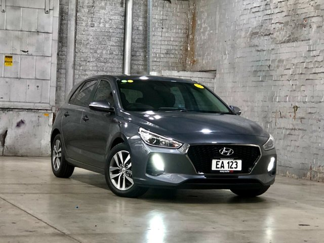 Used Hyundai i30 GD4 Series II MY17 Active Mile End South, 2017 Hyundai i30 GD4 Series II MY17 Active Grey 6 Speed Sports Automatic Hatchback
