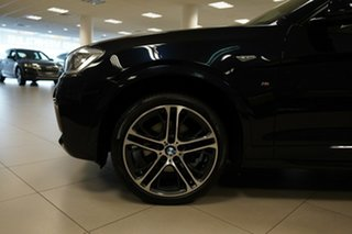 2016 BMW X4 F26 MY16 xDrive 20D Carbon Black Metallic 8 Speed Automatic Coupe.