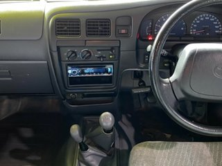1998 Toyota Hilux LN167R White 5 Speed Manual Utility