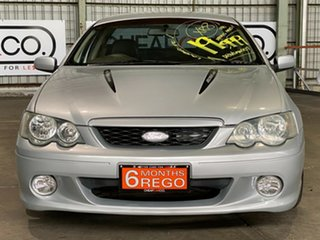 2003 Ford Falcon BA XR8 Ute Super Cab Silver 4 Speed Sports Automatic Utility