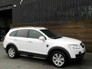 2009 Holden Captiva CG MY09 LX AWD White 5 Speed Sports Automatic Wagon