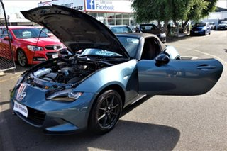 2015 Mazda MX-5 ND GT SKYACTIV-Drive Blue 6 Speed Sports Automatic Roadster