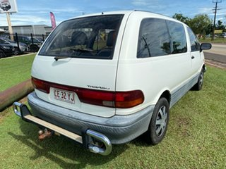 2000 Toyota Tarago TCR10R Getaway II White 5 Speed Manual Wagon