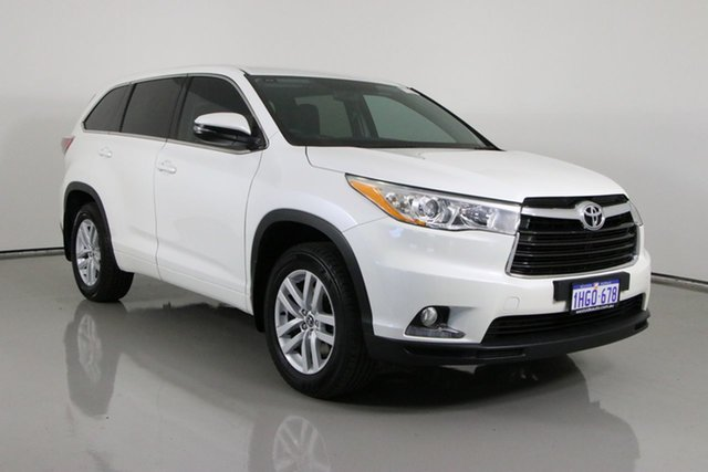 Used Toyota Kluger GSU50R GX (4x2) Bentley, 2016 Toyota Kluger GSU50R GX (4x2) White 6 Speed Automatic Wagon