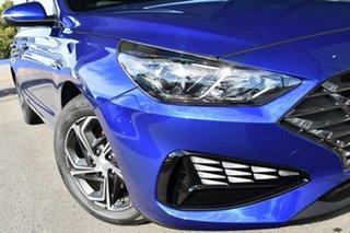 2020 Hyundai i30 PD.V4 MY21 Yp5 - Intense Blue 6 Speed Sports Automatic Hatchback.