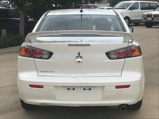 2015 Mitsubishi Lancer CJ MY15 ES Sport White 6 Speed CVT Auto Sequential Sedan