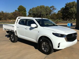 2020 Mazda BT-50 TFS40J XT Ice White 6 Speed Sports Automatic Cab Chassis.